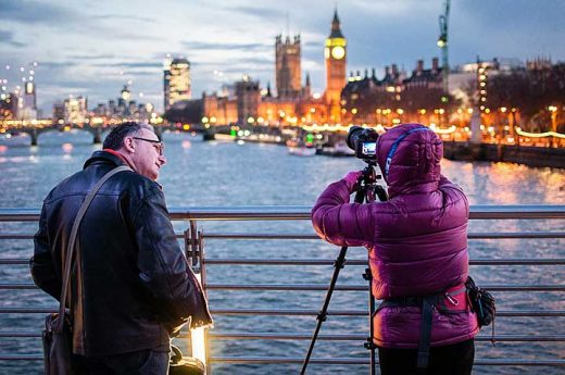 Photographing the Houses of Parliament